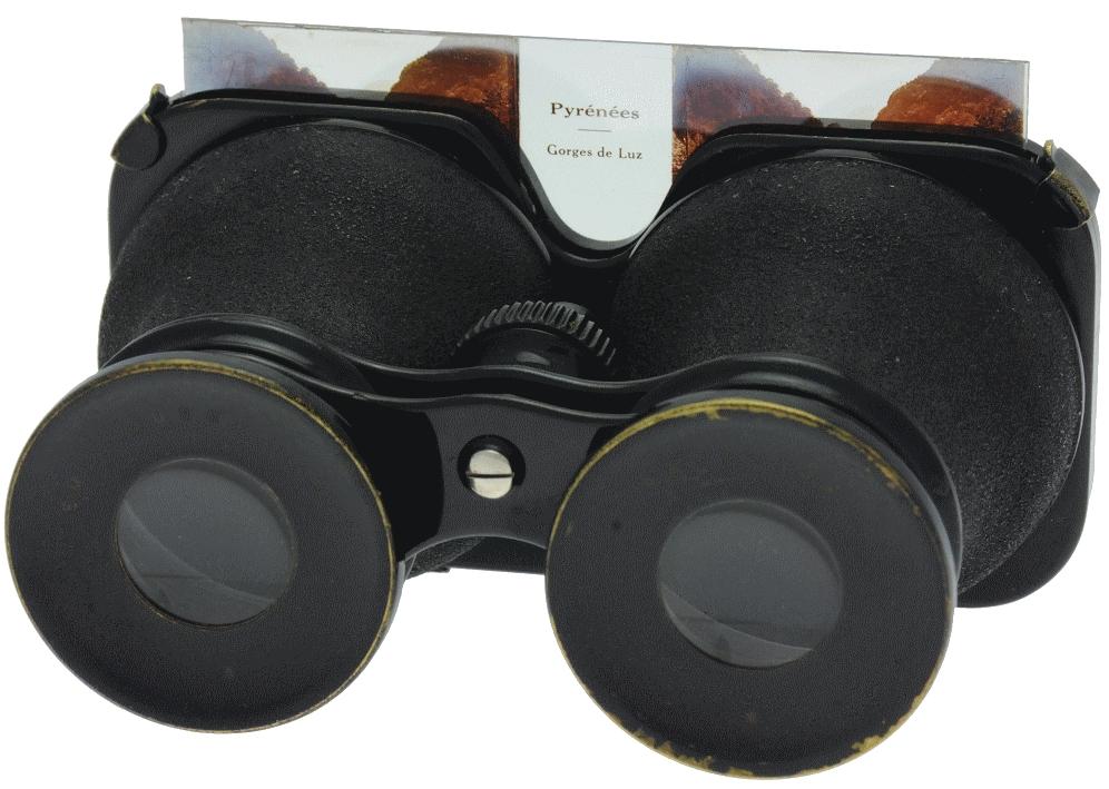 Busch Emil - Stéréoscope jumelle 45 x 107