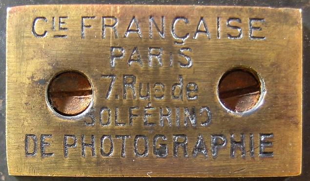 Compagnie Française de Photographie - Photosphère 9 x 12 cm détail