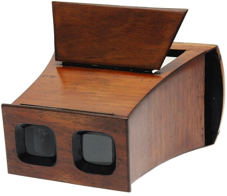 Inconnu - Stéréoscope pour vues en carton