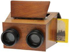 Inconnue - Stereoscope pour vues carton miniature