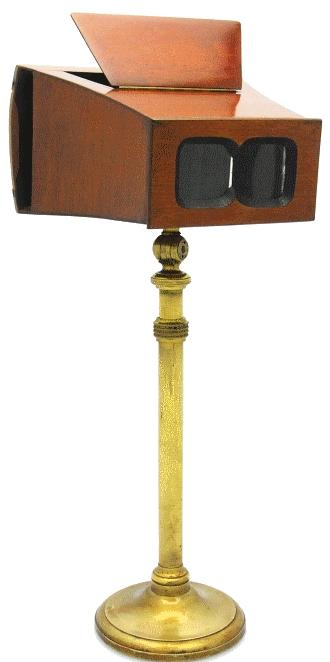 Inconnue - Stéréoscope sur pied
