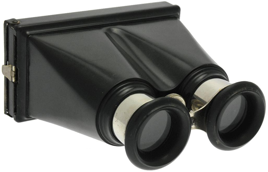Inconnue - Visionneuse stéréo 6 x 13 en bakélite à mise au point