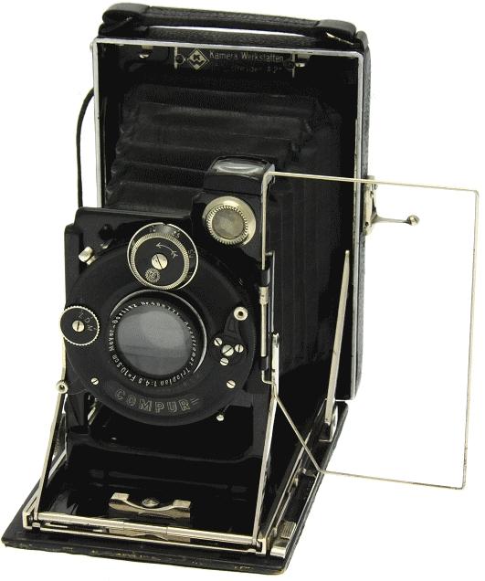 Kamera Werkstätten - Patent Etui 6.5 x 9
