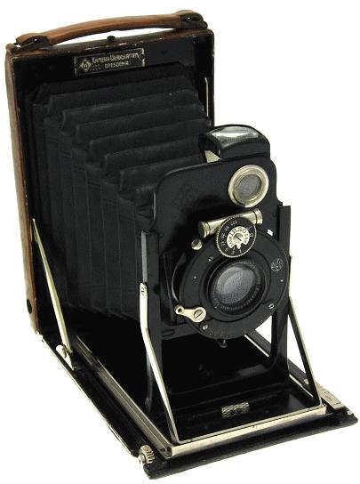 Kamera Werkstätten - Patent Etui de luxe 9 x 12