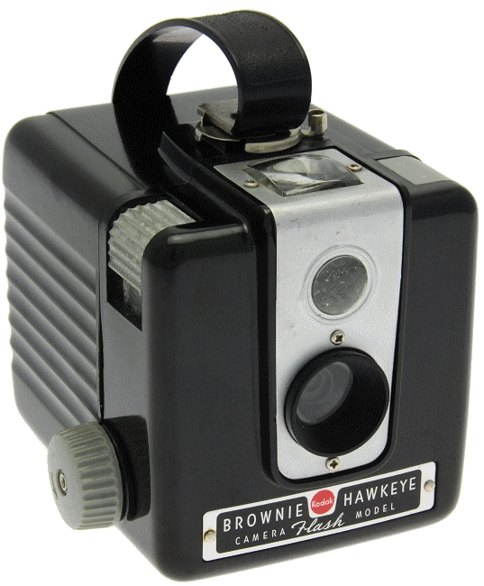 Kodak - Brownie Hawkeye Camera Flash Model