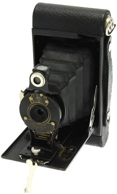 Kodak - N° 2 Autographic Brownie ''boîtier arrondi'' miniature