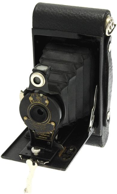 Kodak - N° 2 Autographic Brownie ''boîtier arrondi''