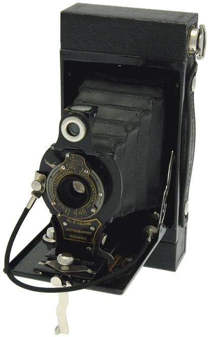 Kodak - N° 2 Autographic Brownie ''boîtier rectangulaire''