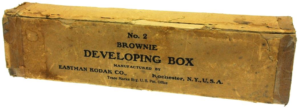 Kodak - N° 2 Brownie developing box boite
