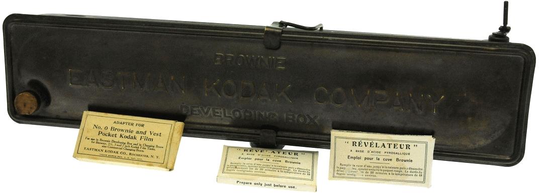 Kodak - N° 2 Brownie developing box