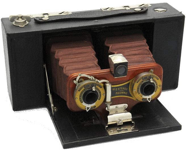 Kodak - N° 2 Brownie stéréo modèle A