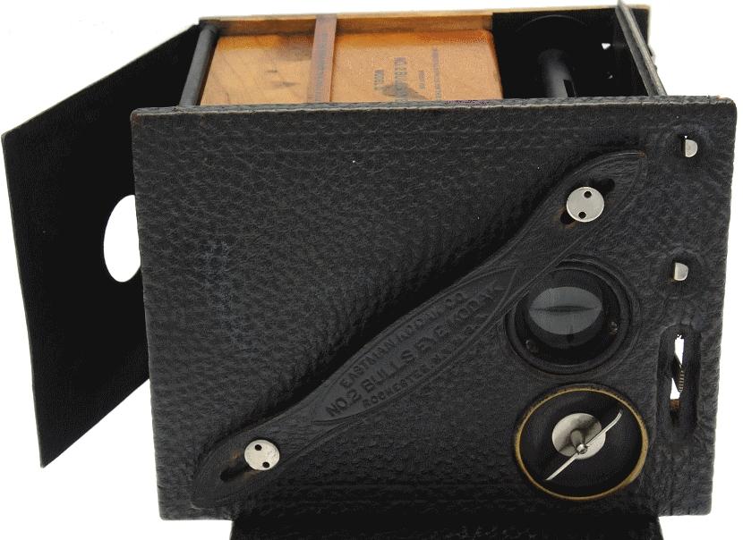 Kodak - N° 2 Bulls-Eye modèle D ouvert