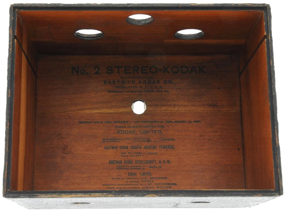 Kodak - N° 2 stéréo-kodak intérieur