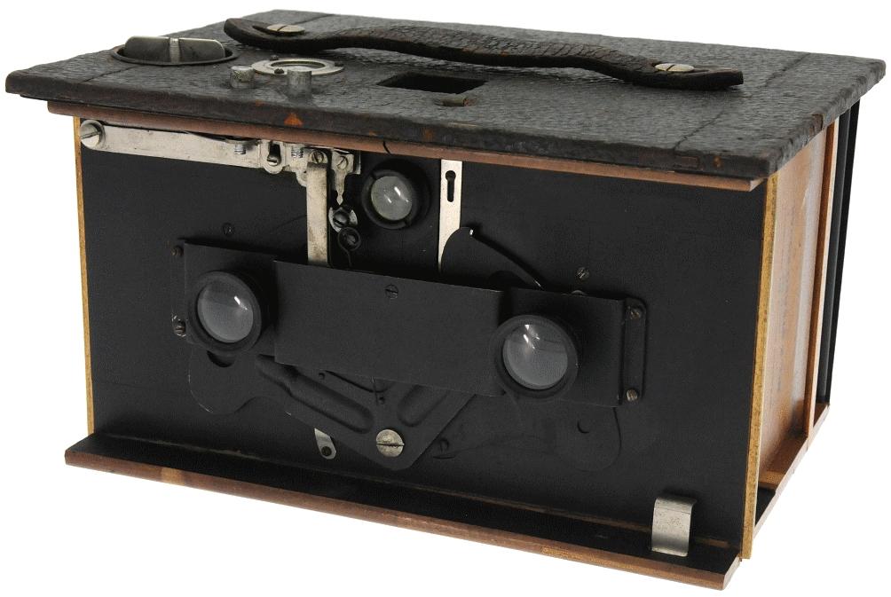 Kodak - N° 2 stéréo-kodak ouvert