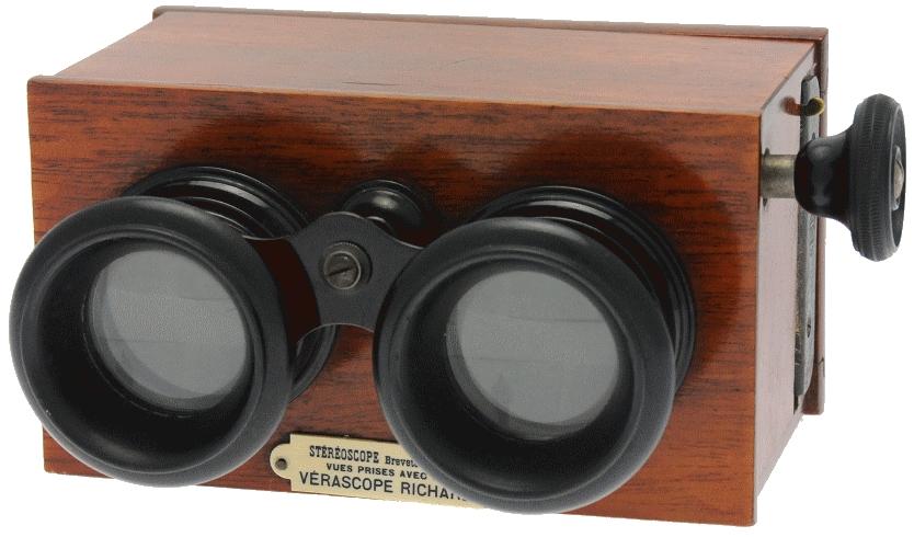Richard Jules - Stéréoscope 45 x 107 à mise au point
