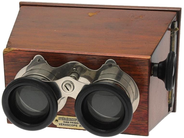 Richard Jules - Stéréoscope 7 x 13 à mise au point et à écartement des oculaires