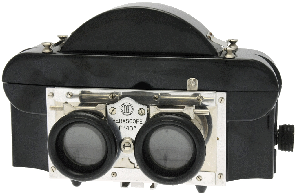Richard Jules - Stéréoscope inverseur en bakélite F 40