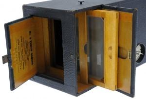Kodak Ltd. - N° 3 Zenith Camera modèle 1899 ouvert