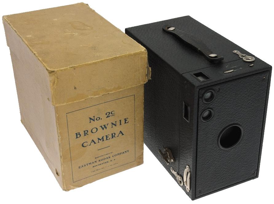 Kodak - N° 2C Brownie modèle A