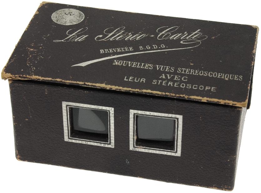 Léon & Lévy - La Stéréo-carte