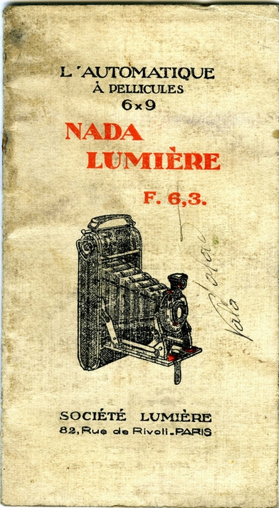 Lumière - Nada 1er modèle notice