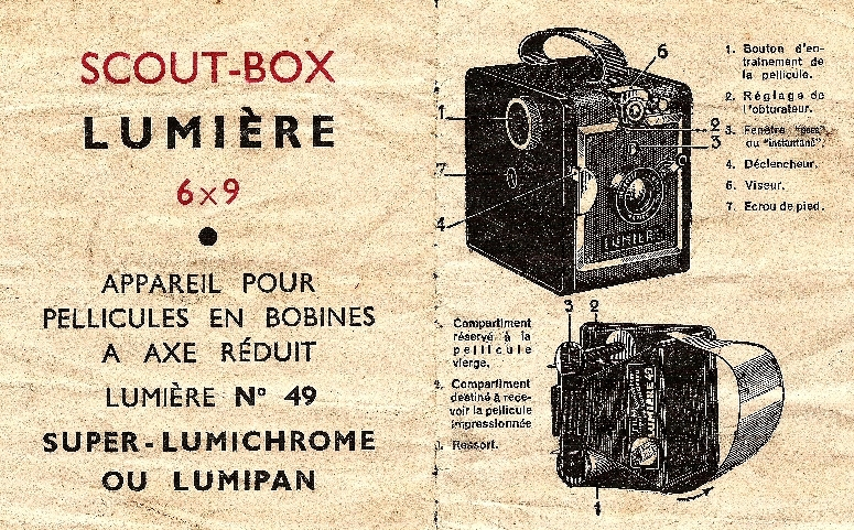 Lumière - Scoutbox [type C] notice