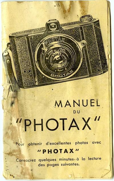M.I.O.M - Photax (I) bi-format notice