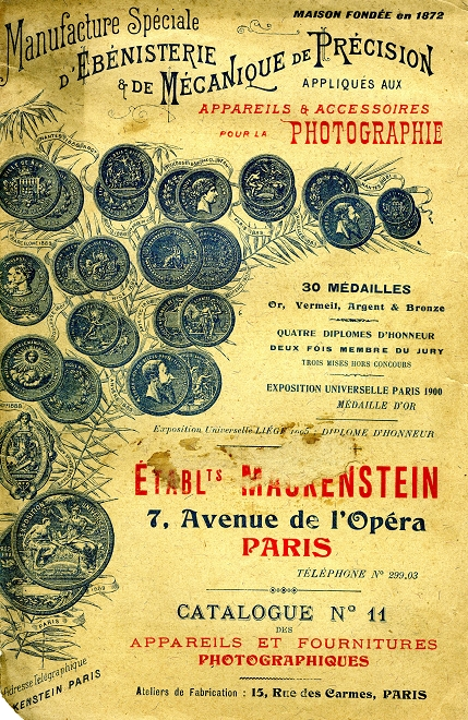 Mackenstein - Minima pliant 45 x 107 catalogue