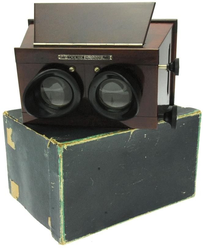 Mackenstein - Stéréoscope 6 x 13 à mise au point et à écartement des oculaires