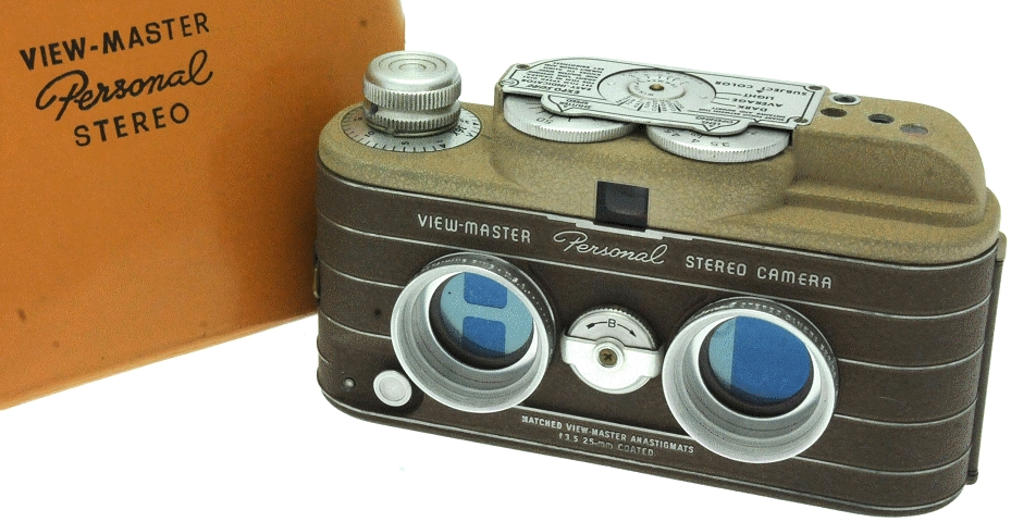 Sawyer's - View Master Personnal Stereo Camera marron