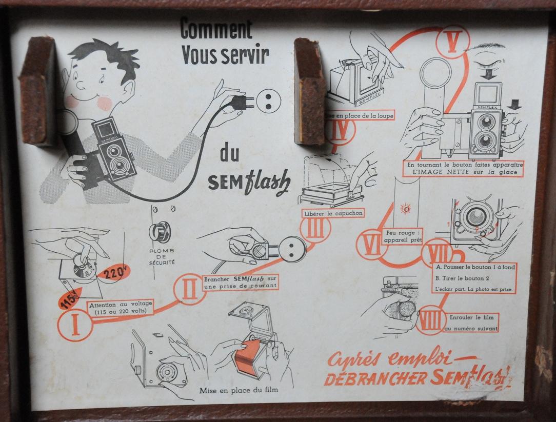 Sem - Semflash 4,5 non couplé [type 47] couvercle
